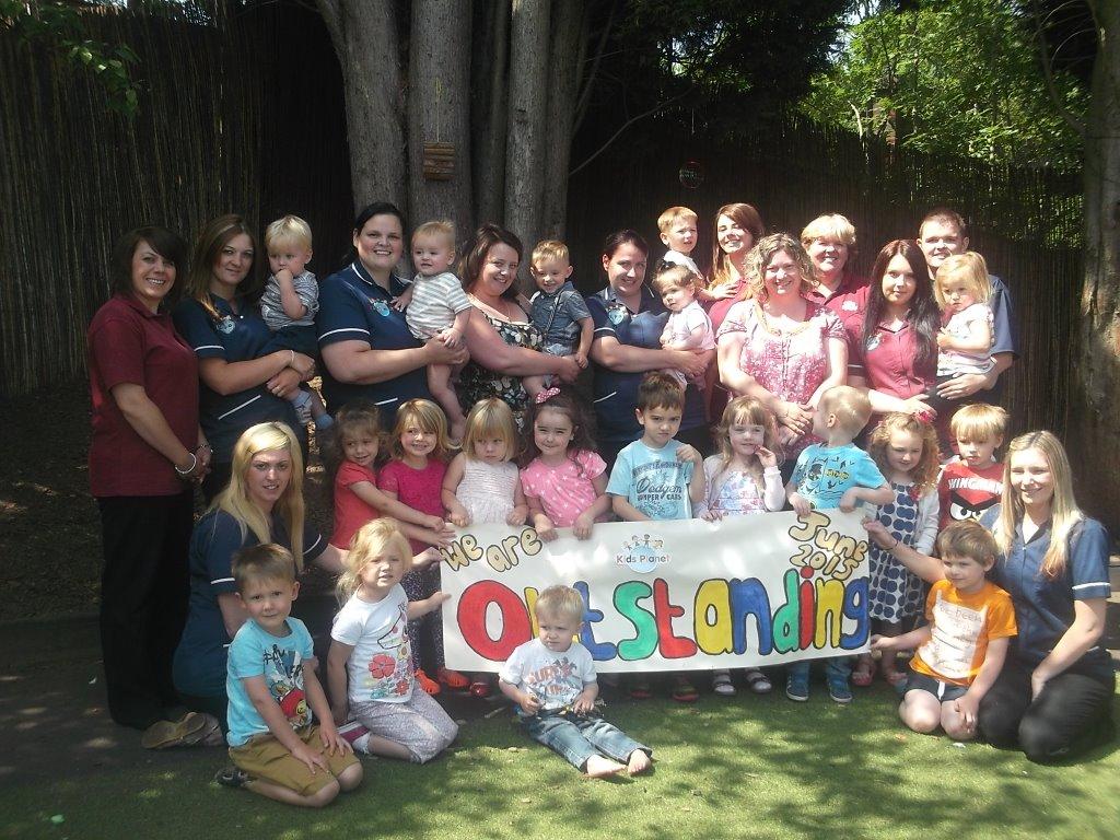 Kids Planet Bridge Farm Crewe Ofted Outstanding