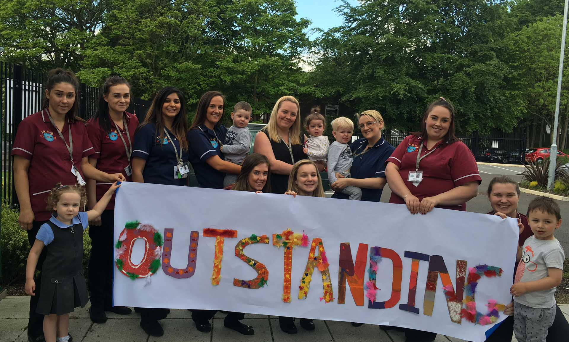 Kids Planet Salford Ofsted Outstanding