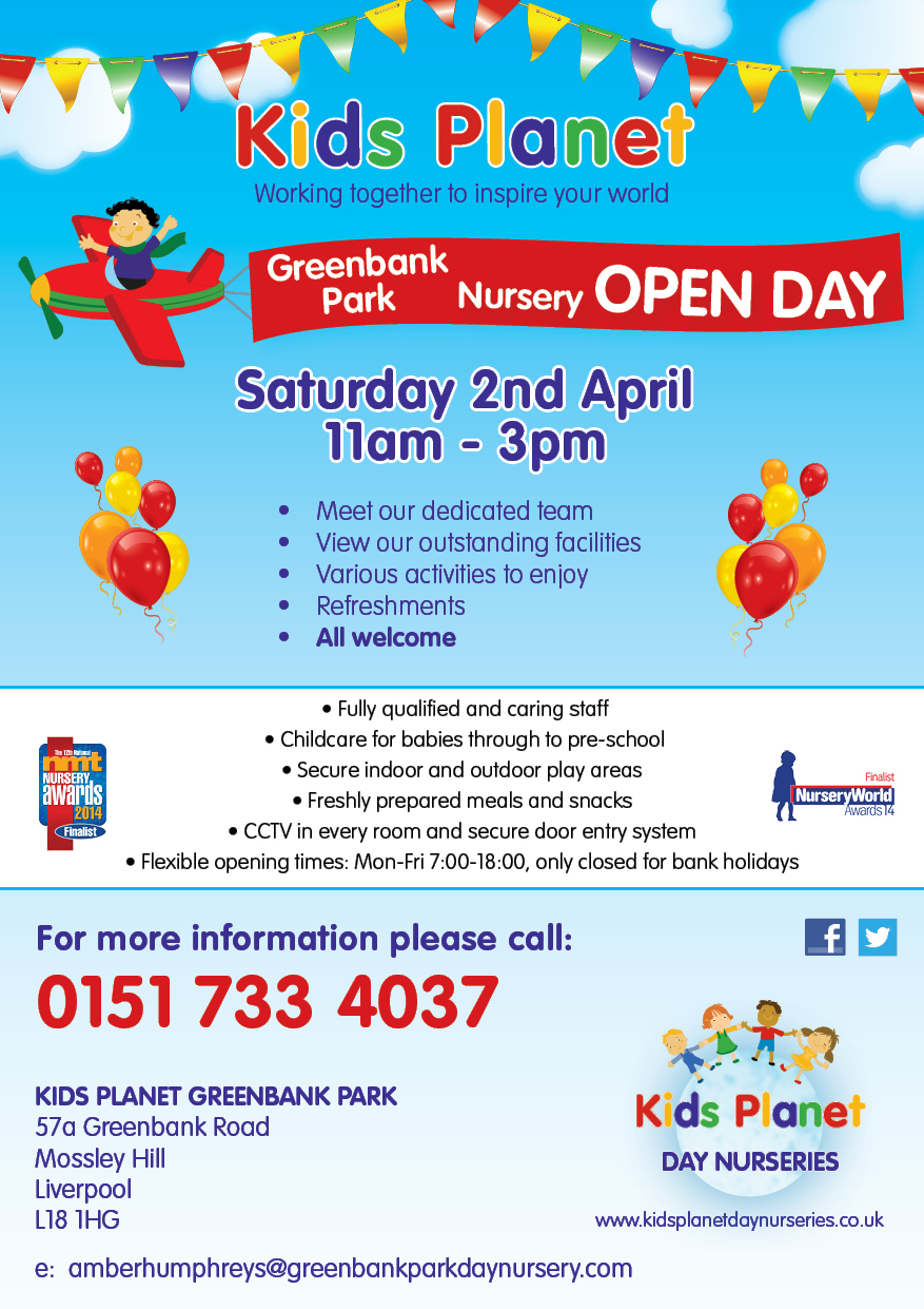 Kids Planet Greenbank Park Open Day 2 April 2016