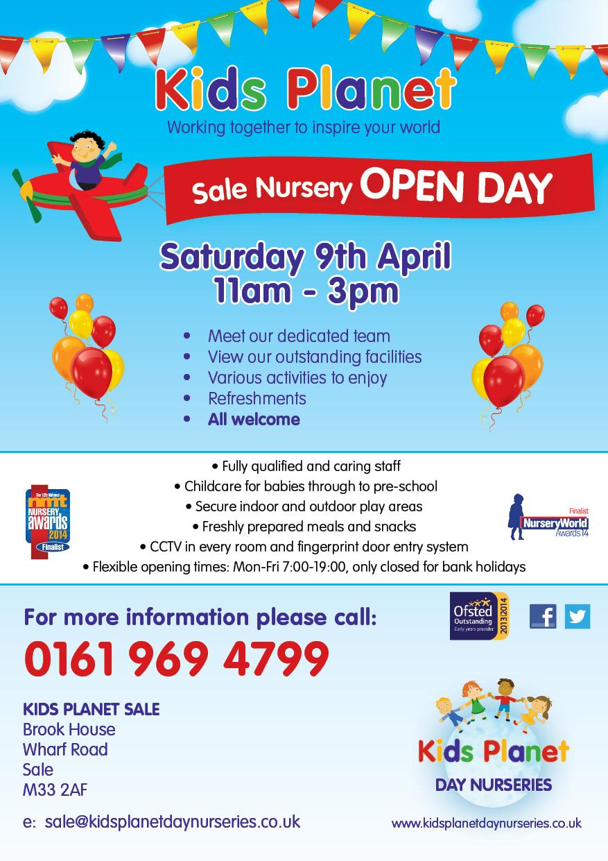 Kids Planet Sale Open Day 9 April 2016