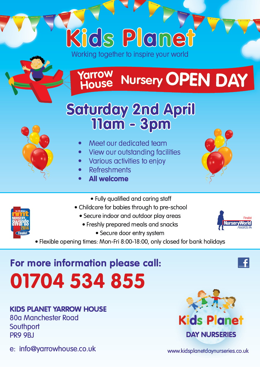 Kids Planet Yarrow House Open Day 2 April 2016