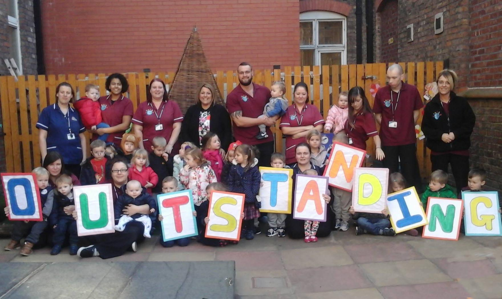Kids Planet Widnes Ofsted Outstanding