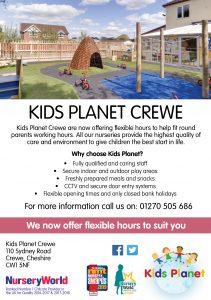 kids planet crewe